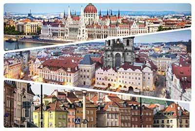تور ترکیبی مجارستان لهستان جمهوری چک