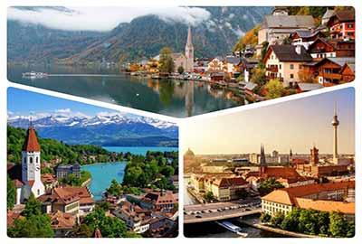تور ترکیبی سوئیس آلمان اتریش