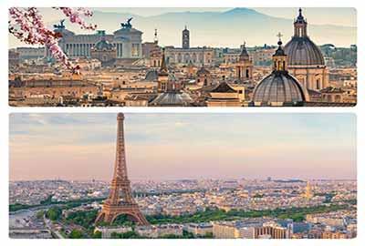 تور ترکیبی ایتالیا فرانسه